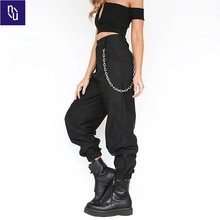 High Waist Cargo <strong>Pants</strong> <strong>Women</strong> Camo Joggers Loose Sweatpants Korean Hip Hop <strong>Pants</strong> <strong>For</strong> <strong>Women</strong> Casual Streetwear Black <strong>Trousers</strong>