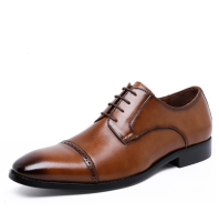 HQC-1009 Italian men shoes genuine leather casual shoes men