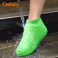 Silicone Unisex Shoes Protectors Rain Boots Silicone Shoe Protectors