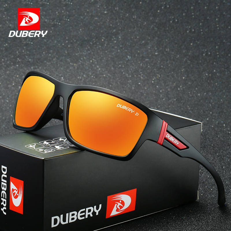 DUBERY Cheap Polarized Sport Sunglasses Men's Driving Shades Male Sun Glasses For Men Safety 2019 Luxury Brand Designer Oculos