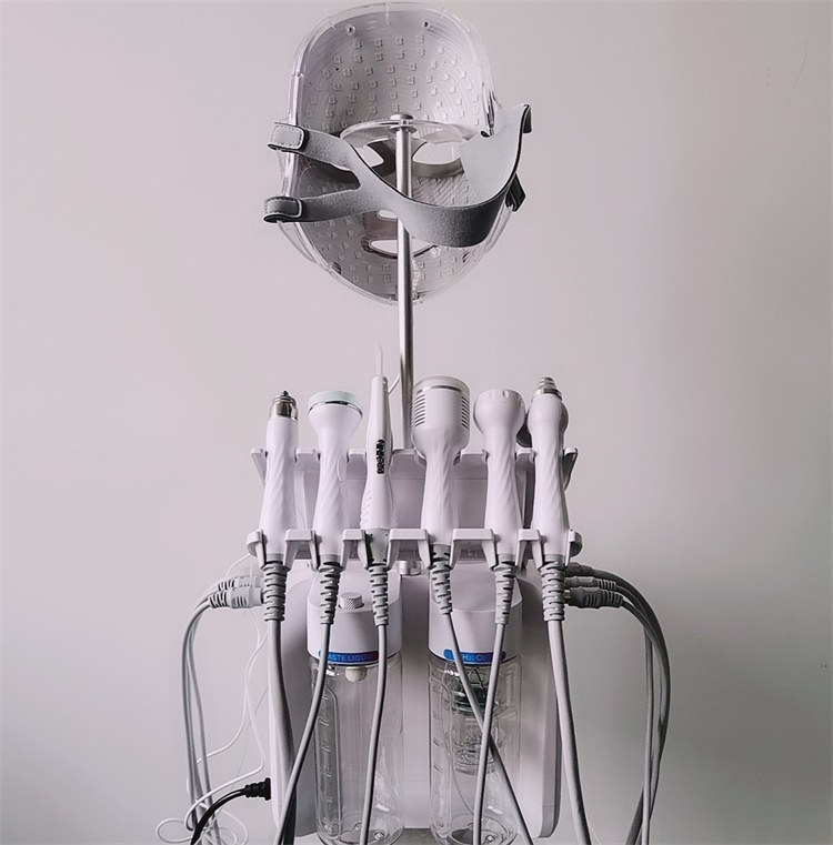 7 in 1 Hydra Microdermabrasion Peeling equipment for Facial Cleansing