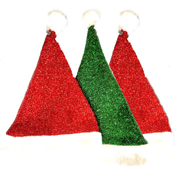 Santa Elf Imported Musical Cowboy Christmas Hats For Ornament