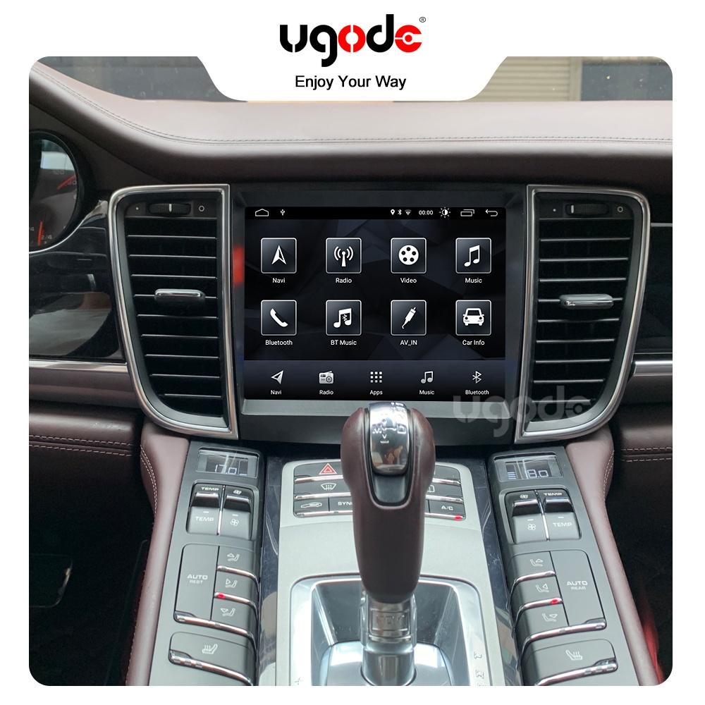 Ugode Android 10,0 Auto GPS Navigation Stereo Player 8,4 inch Bildschirm Audio für Porsche Panamera