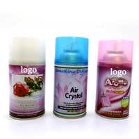 Home Metered Fragrance Perfume Aerosol Air Freshener Spray Automatic Air perfume for Dispenser Refills