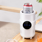 High quality drink beer milk tea electric wine freeze cups cooling and heating cup holder refrigeration cup