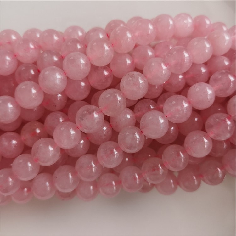 Hot Sell Rose Quartz Gemstone Loose Beads Natural Stone Beads