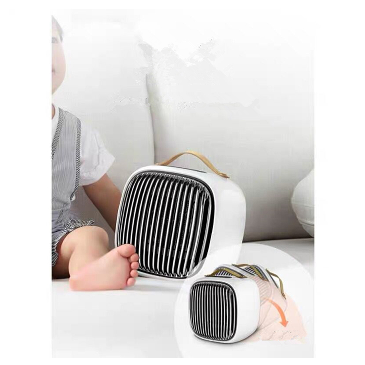 Easy Home Bathroom Mini Electric Ceramic Fan Portable Heater Ptc Room Heater