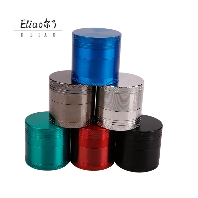 YiWu Erliao Flashlight Shaped Herb Tobacco Grinder Smoke Spice Crusher Electric Aluminum Metal Herb Grinder