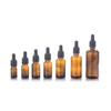 5ml 10ml 15ml 30ml 50ml 100 ml Essential Oil Glass Boston Bottle Amber Dropper Bottle