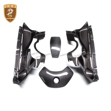Hot Selling Carbon Fiber Engine Interieurlijsten Voor Mc-Laren MP4 650S Motor Bay Schilden Cover Hood