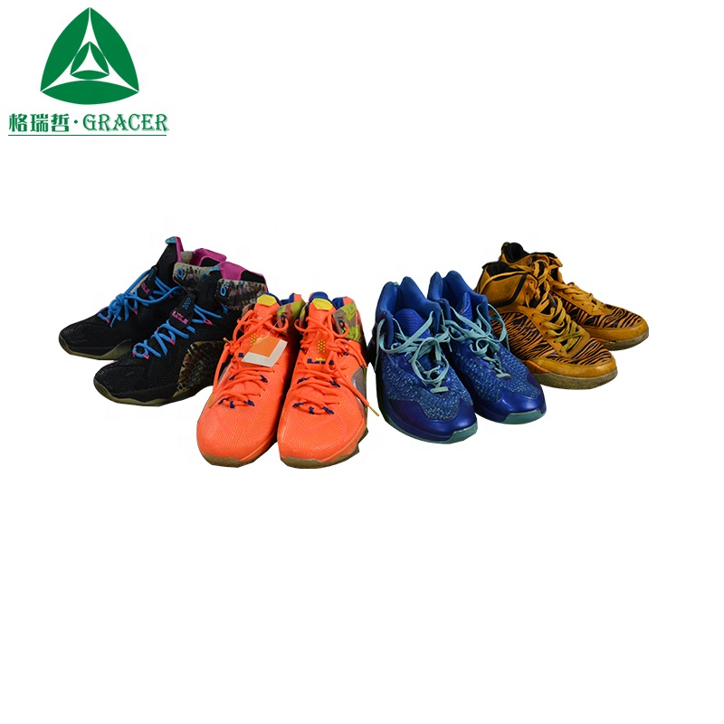 International Branded Sport Used Shoes Wholesale From USA