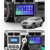 Leshida 10.1 inch 2 din Car Radio Multimedia Video Player Navigation GPS Car Bluetooth Mp3 Android Player For Jeep