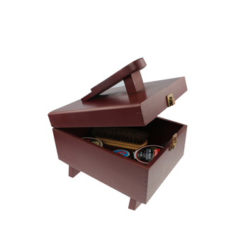 Hot Sale Wooden Shoe Shine Box With Creative Design - Buy ...