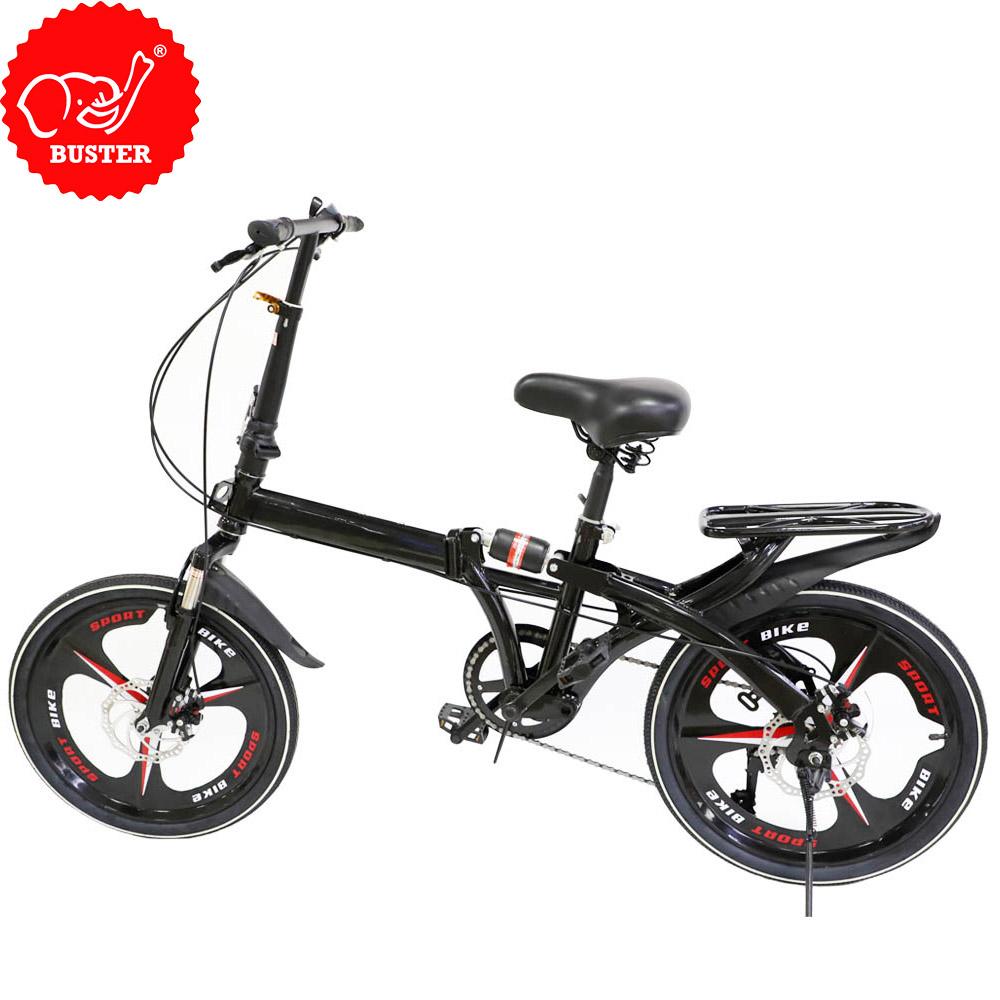 Buster 20 pulgadas de acero de alta calidad 7 velocidad estudiantes bicicleta plegable fácil de instalar plegable bicicleta