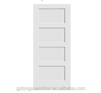 shaker style Solid wood door interior house bedroom and home door designs for USA wooden door design picture