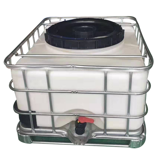 High quality stackable 500 litre used ibc containers for sale