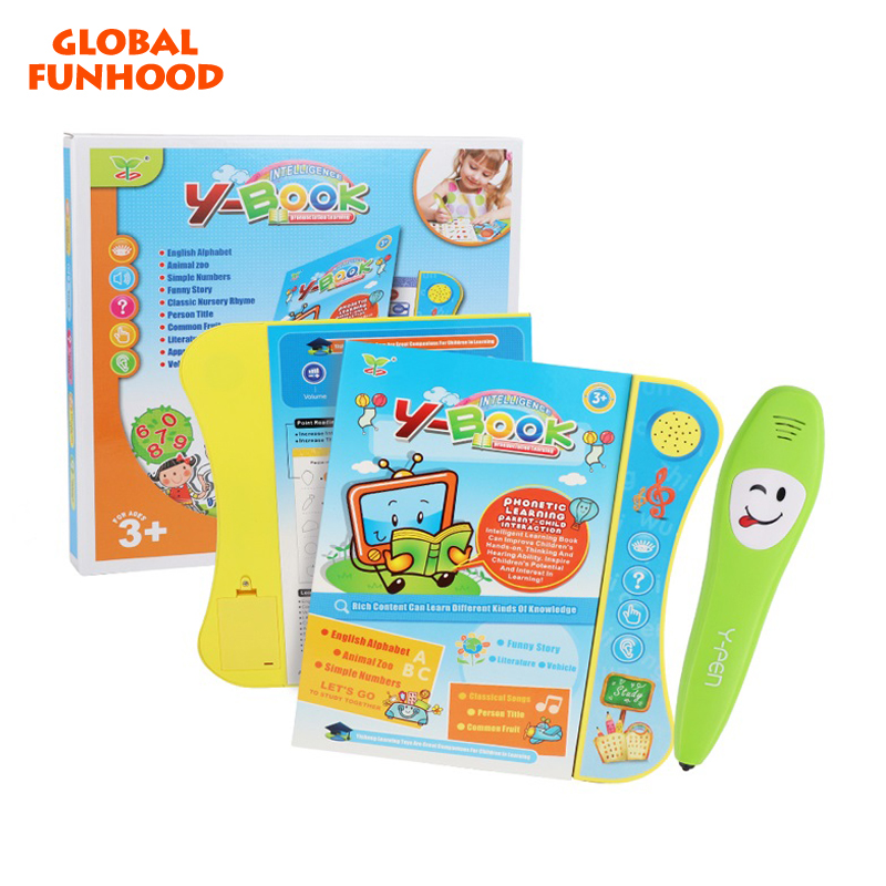 Electronic YS2605C English <strong>Talking</strong> <strong>Pen</strong> Reading <strong>Pen</strong> Juguetes Touch Screen Sound Educational Toy E-Book