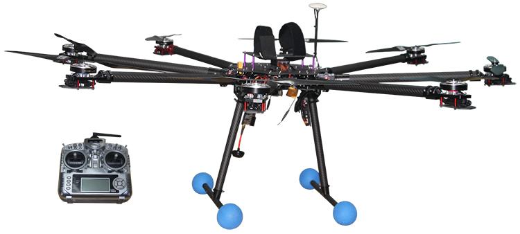 Konstruksi Saluran Transmisi Pesawat Tak Berawak Sistem