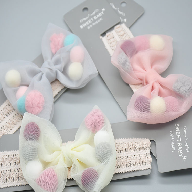 New Style Cute Bow Baby Headband Factory Wholesale
