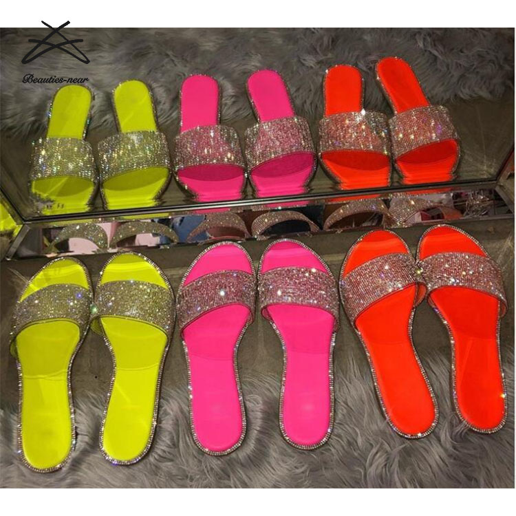 RTS 2019 Summer new arrival sandal shoe stylish ladies ladies fancy flat sandal