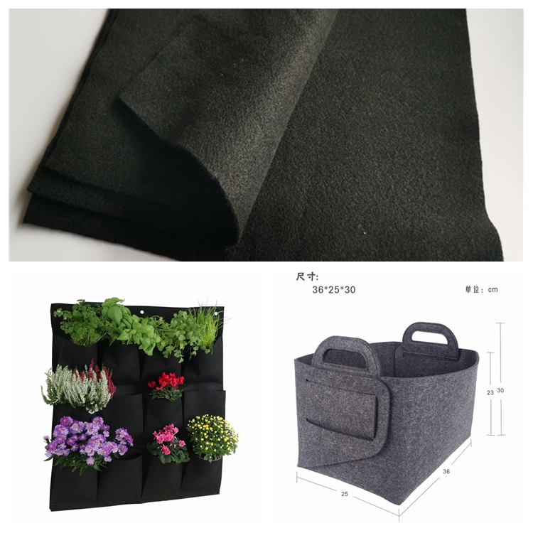 Fabrika promosyon fiyat sıcak satış renkli polyester pp geri dönüşümlü dokuma olmayan kumaş tedarikçisi