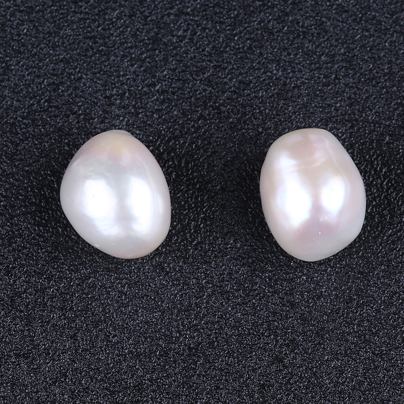 12-13mm AAAA top quality large size nugget baroque loose pearls in pairs