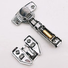 China very cheap 35 mm cup stainless steel hydraulic soft clip on closing kitchen cabinet door hinge