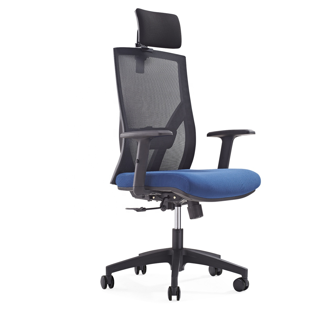 608A Modern comfortable conference meeting room black ergonomic luxury modern mesh black executive office chair
