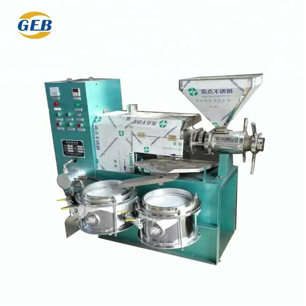 Castor oil press machine/ground nut oil making machine/palm oil processing machine plant