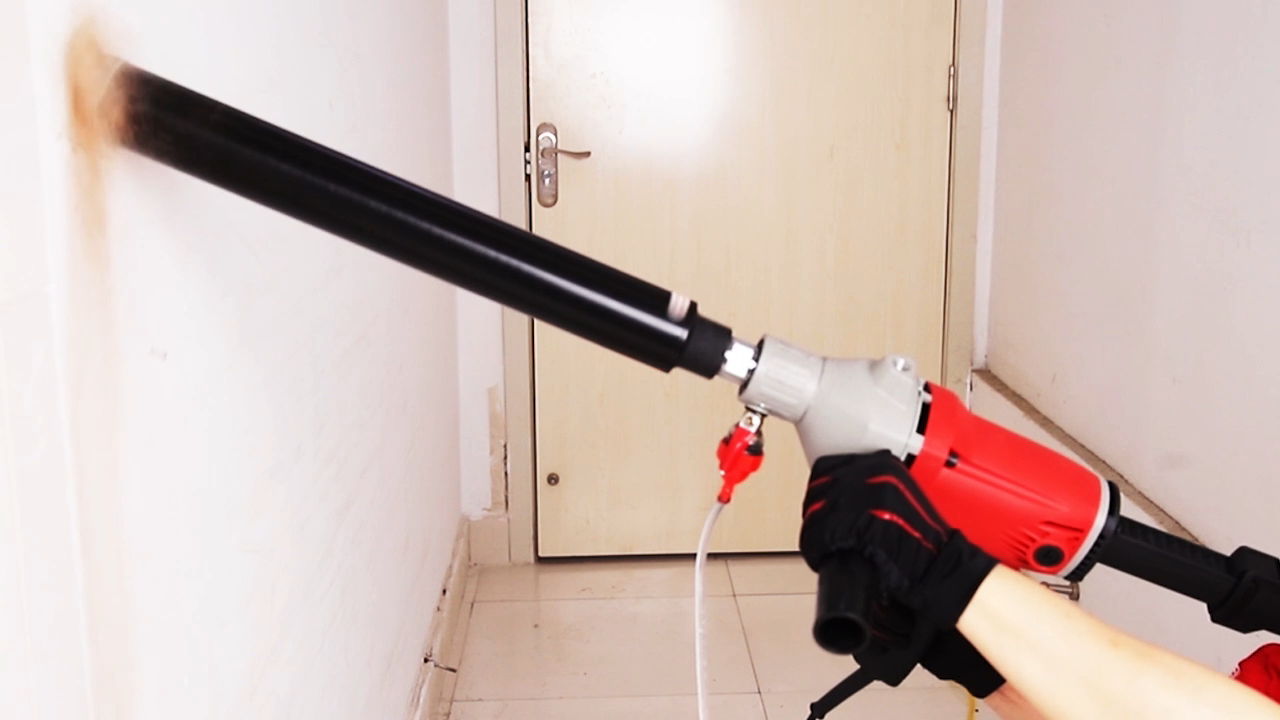 New KEN 6110B 1400W 110mm Red Diamond Core Drill Professional Electric Drill Safe Reliable Power Tools Machine