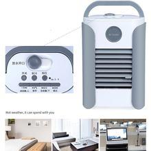Мини-пластиковый вентилятор, увлажняющий спрей, воздушный охладитель, портативный кондиционер, бытовой портативный маленький охлаждающий ...(Китай)