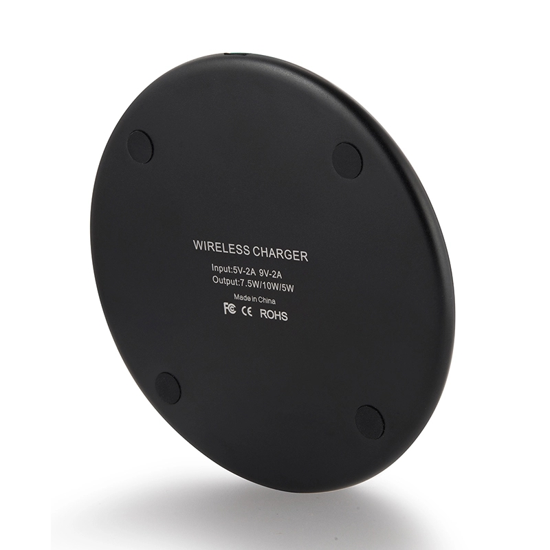2019 Hot selling 10W aluminium alloy wireless charger pad for desk,wireless mobile phone charger for iphone