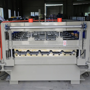 Chinese Hot sale metal roofing sheets panel roll forming machine