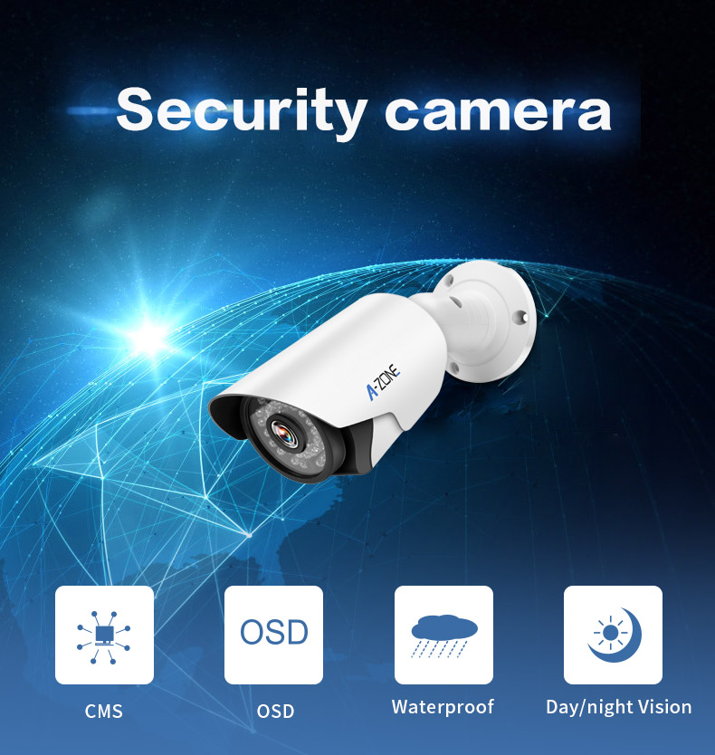 חם 2020 קואקסיאליים Hd אנלוגי בחדות גבוהה מצלמה דה מעקב 2Mp AHD CCTV מצלמה