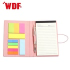 2020 Self-Adhesive Feature and Memo Pads Style promotional pocket concise notepad with pen
