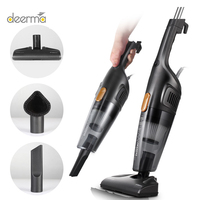 Deerma DX115C Household Vacuum Cleaner with Mini Handheld Pushrod Cleaner Strong Suction Low Noise