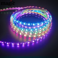 60LEDs per meter IP65 WS2811 Pixel addressable led strip