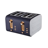 Unique stainless steel commercial bread toaster 4 slice for breakfast