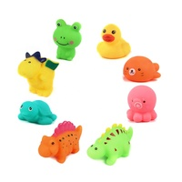 Vinyl soft animals swimming turtle kids bath toys for shower