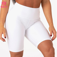 Hohe Taille Polyester Kompression Squat Beweis Fitness Bottom Nach Workout <span class=keywords><strong>Frauen</strong></span> <span class=keywords><strong>Biker</strong></span> <span class=keywords><strong>Shorts</strong></span>