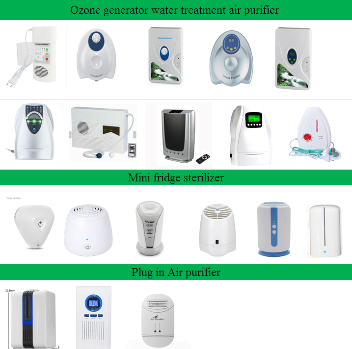 Dropshipping New air purifier with anion 7 million and ozone remote controller ozone generator air purifier water ozonator