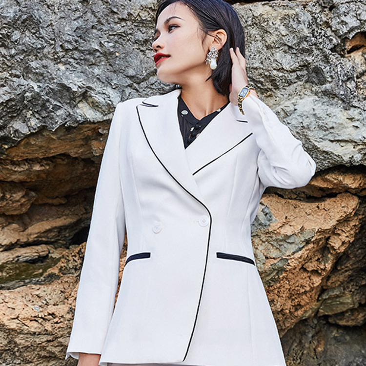 Hot Sale Ladies Formal Office Work Blazer Suit Design For Women Buy Hot Ladies Office Suits Ladies Work Suit Design Office Wear For Women Product On Alibaba Com