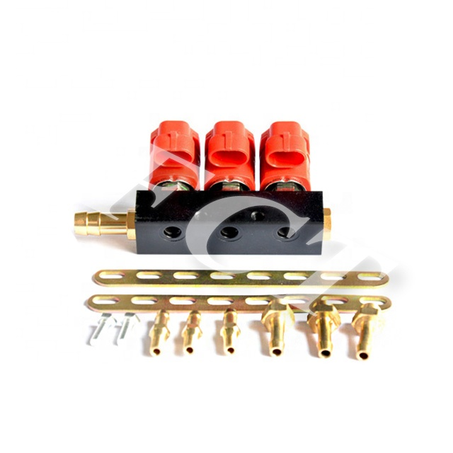 [FCT] VTK 3 cyl lpg rails cng injector rail voor auto common rail injector onderdelen ngv injector