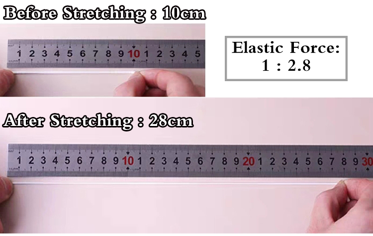 Flat 3mm 1/8 elastic band for sewing