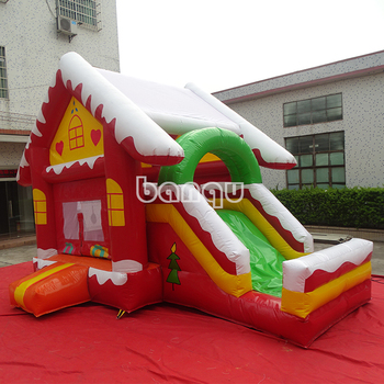 Special Price Inflatable Bouncer, Inflatable Christmas Eve Bouncer, Inflatable Christmas Bounce House