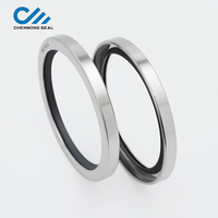 Ceimin 90*110*10 mm Ptfe Stainless steel oil seal SS304 Compressor oil seal for Ship blower professional oil seal