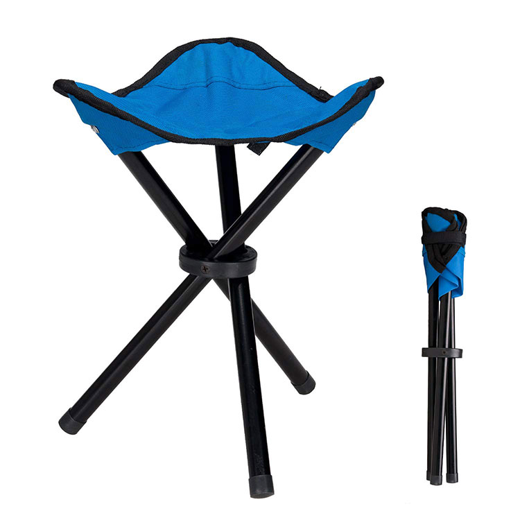 outdoor metal Steel Hiking lightweight kids mini cheap Tripod Three Leg folding fishing camping stool