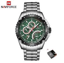 NAVIFORCE новые спортивные часы для мужчин, водонепроницаемые, лучший бренд, роскошные часы Orologio Quarzo Relogio Masculino(Китай)