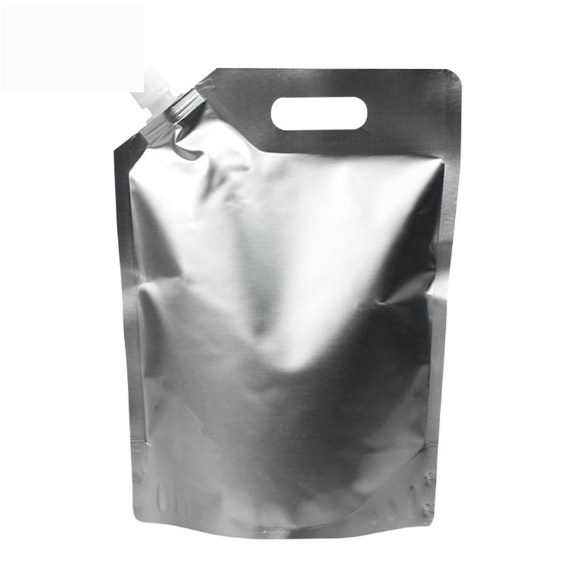 50ml/150ml/250ml/350ml/500ml/1L/2L/5L Fruit juice packaging bag aluminum foil pouch stand up bag with spout