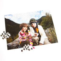 custom photo print services personalized puzzle 1000 pieces rompecabezas personalizado jigsaw puzzle printing